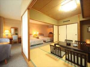 十和田湖レークビューホテル:特別室(和洋室タイプ)の一例