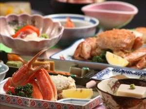 十和田湖レークビューホテル:毛ガニ&ズワイガニ♪蟹好きプランの献立一例