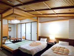 御前崎グランドホテル:太平洋一望の和洋室