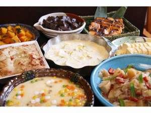 ホテルサンルート奈良:朝食バイキング和惣菜