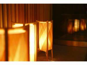 ホテルサンルート奈良:エントランス 照明