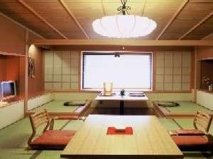 湯の川観光ホテル祥苑:和室10畳の他に広縁4畳(お部屋は一例)