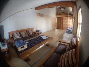 全4室の小さな温泉宿 ゆ・食・遊 えちぜん丸太屋 :10畳のロフト付のお部屋