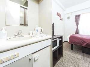 ホテルマイステイズ日暮里:【全室ミニキッチン完備】電磁調理器・小型空冷蔵庫もございます。