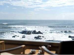 犬吠埼温泉 海辺のくつろぎの宿 ぎょうけい館:客室からの眺め