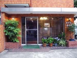 ファミリーホテルふか川:ホテルへのアプローチ