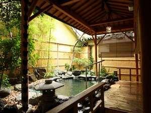 ホテル亀屋本店:■風呂■1階大浴場竜宮の湯「岩露天風呂」