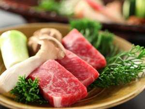 ホテル亀屋本店:■料理■信州産アルプス牛の陶板焼きをメインとした会席料理