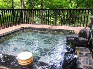 信夫温泉のんびり館:【貸切露天】空いているときはいつでも利用可能