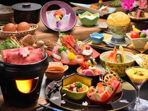 信夫温泉のんびり館:夕食一例