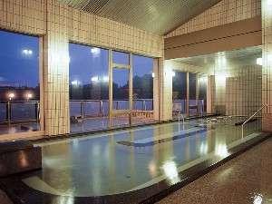ホテルふせじま:最上階大展望風呂「せせらぎの湯」