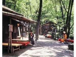 木枯らし紋次郎の小説の舞台を再現した「三日月村」(ホテルより徒歩5分)