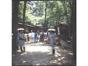 上州三日月村…紋次郎さんに会えるかも?!(ホテルより徒歩4分)