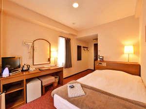 HOTEL盛岡ヒルズ:*シングル(客室一例)/一人旅やビジネスに◎サータ社製のマットレスで安眠の夜を。