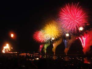 ホテルシティプラザ北上:2010.08.09北上市花火大会の光景