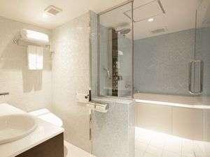 日比谷シティホテル:ダブルB・ツインA浴室