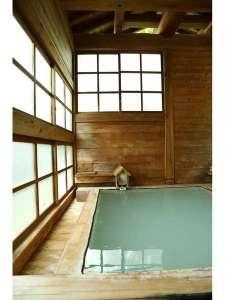 泉水館:朝の湯小屋
