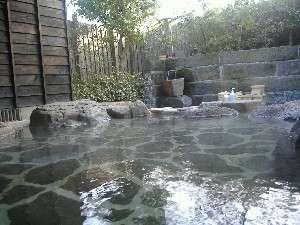 木立の中の宿 清流荘:川沿いにある露天風呂「思い出の湯」