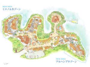 【2018年3月16日リニューアルOPEN】村内マップ