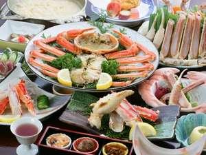 旅館 山林閣:自ら選別した自慢のカニ料理をお楽しみください!