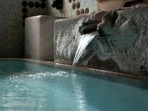 源泉掛け流しのお風呂