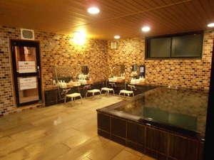ビジネスホテルマスターチ:男性用大浴場・無料サウナ