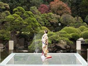 ホテルニュータガワKOKURA:CMでもおなじみの日本庭園。100年以上の歴史ある庭園。