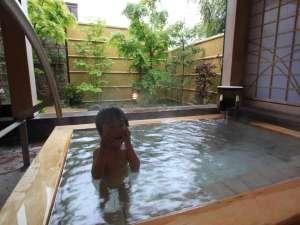 箱根湯本温泉 湯さか荘:家族風呂で赤ちゃんも安心