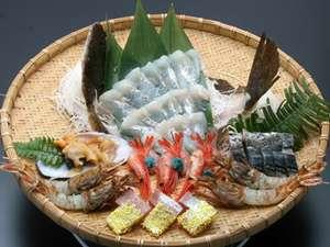 かに・荒磯料理 志麻:その日仕入れた新鮮な海の幸を、ご用意いたします!
