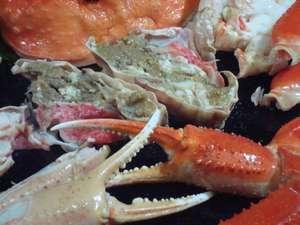 かに 荒磯料理 志麻:加能ガニの◆かに味噌◆旨味が凝縮され濃厚!