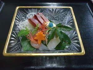 かに・荒磯料理 志麻:お造り一例◆その日の仕入により、より良いものをご提供しております。