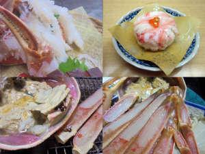かに 荒磯料理 志麻:加能ガニをたっぷりと!様々なお料理でご堪能ください