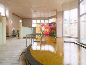 月形温泉ホテル:温泉施設「ゆりかご」大浴場
