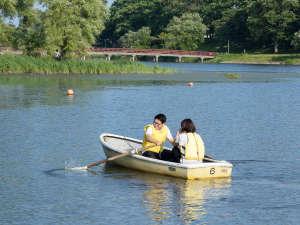 月形温泉ホテル:皆楽公園手漕きボート