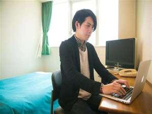 ニューグロリア鶴崎ホテル:全客室wi-fi対応