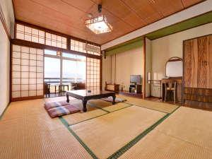 桜島シーサイドホテル:★*和室(客室一例)/全室オーシャンビュー。波の音をBGMに癒しの休日をお過ごし下さい