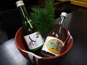 民宿 大倉荘:*淡路島の地酒もご用意。お食事のお供にきりっとしたお酒を楽しんでみてはいかがですか?