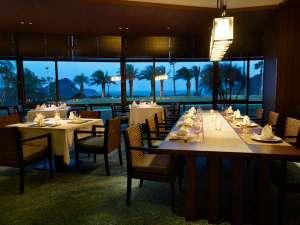 下田東急ホテル:レストラン「マ・シェール・メール番所」、ゆったりと伊豆の山海の幸をお楽しみください。