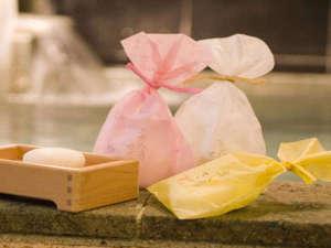 大河内温泉 平田旅館:当館オリジナルの美人湯石鹸です★