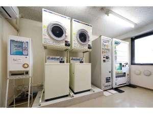 パシフィックホテル盛岡:コインランドリーは6F自販機室に設置しております。