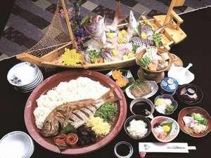 宇和島国際ホテル:宇和島の郷土料理をご賞味下さい(イメージ写真)