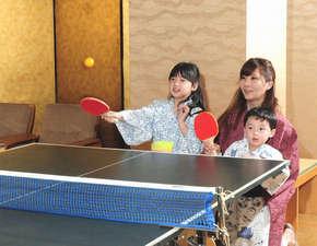 ホテルテトラリゾート鶴岡(旧海麓園):卓球