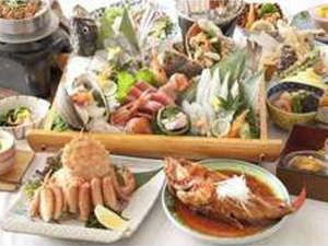 ホテル浦嶋荘:【料理長おまかせ】夕食一例