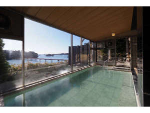 ホテル 絶景の館:大浴場内風呂
