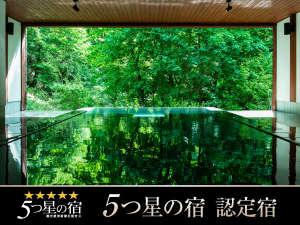 渓谷に佇む癒しの一軒宿 扉温泉 明神館:立ち湯「雪月花」×5つ星の宿