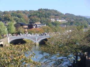 木津屋旅館:浅野川と浅野川大橋
