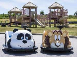 AJリゾートアイランド伊計島:お子様に大人気のキッズカート&プレイグラウンド♪