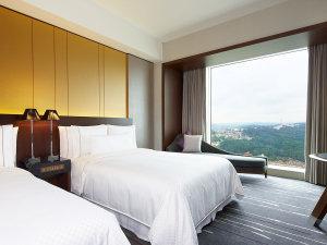 ウェスティンホテル仙台:ここちよい眺望に包まれるゆとりある広さの客室