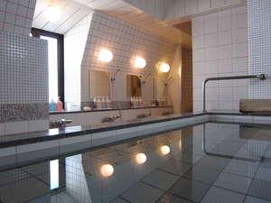 松本駅から一番近い大浴場のある ホテルニューステーション:【大浴場2018年1月リニューアル】炭酸温浴で体がポカポカ♪