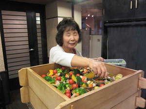 松本駅から一番近い大浴場のある ホテルニューステーション:朝食一筋20年!お客様への叱咤激励が評判です♪